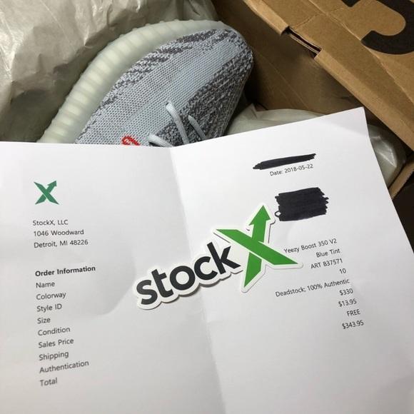 1d09a8c39558e Yeezy 350 Blue Tint. NWT. adidas.  325  450. Size